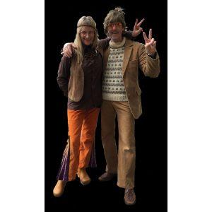 Hippie par fløjl