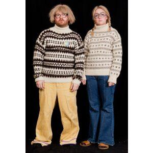 Hippie par islænder