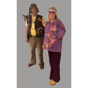1965-1975 hippie tøj
