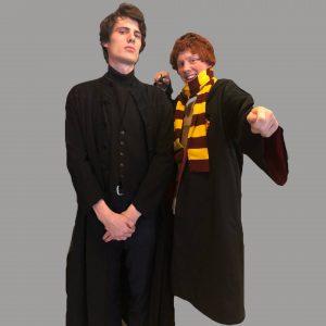 Professor Snape og Ron Weasley