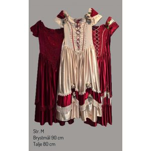 Victoriansk kjoler str M