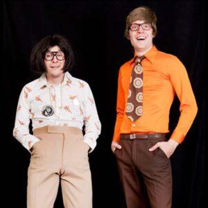 1965-1975 Orange, fløjl og hippier