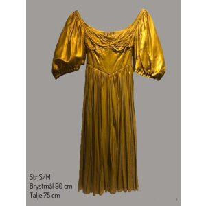 Historisk guld kjole
