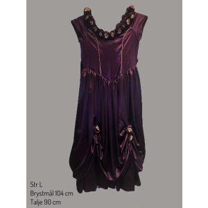 Historisk kjole lilla str L