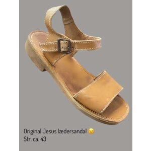 Læder sandal