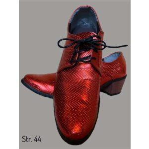 Rød glimmer sko